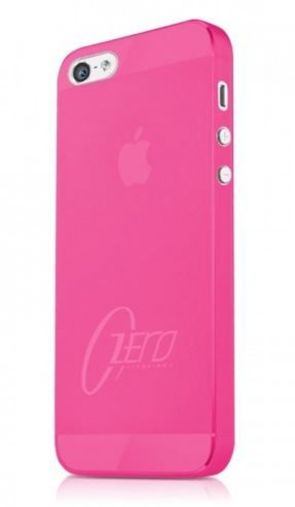 ITSKINS Najtanjši etui ZERO.3 + zaščita zaslona za iPhone 5S/5, roza barve, APH5-ZERO3-PINK - ITSkins