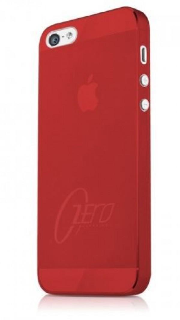 ITSKINS Najtanjši etui ZERO.3 + zaščita zaslona za iPhone 5S/5, rdeče barve, APH5-ZERO3-REDD - ITSkins