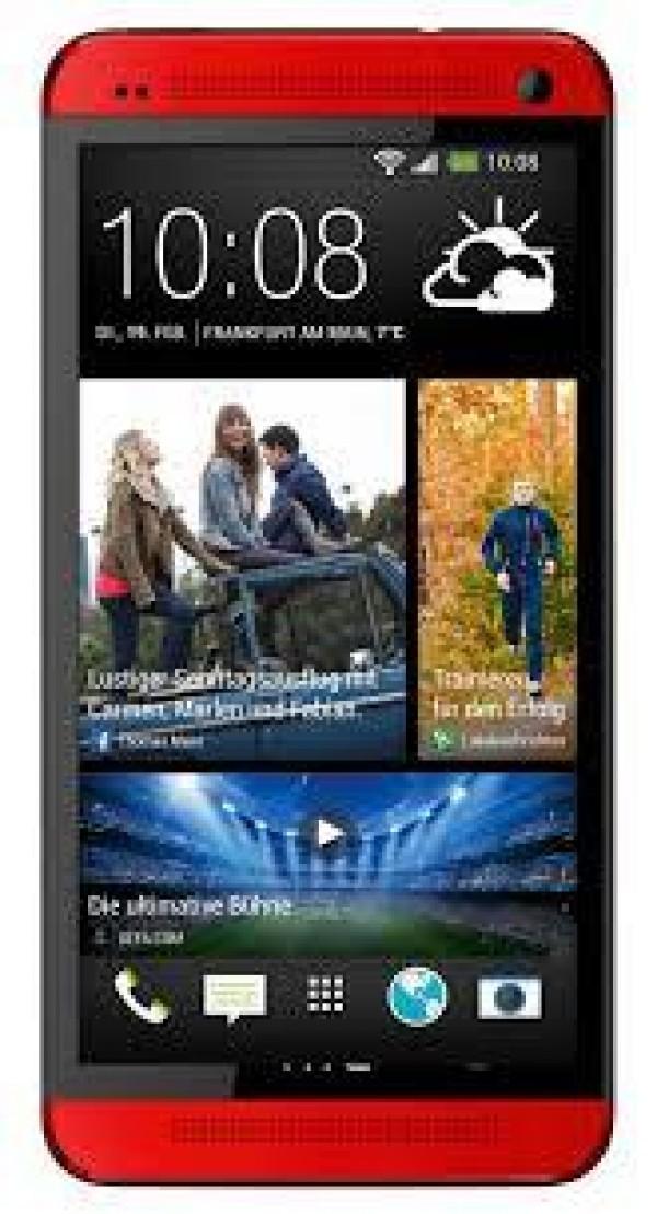 Mobilni telefon HTC one - rdeč