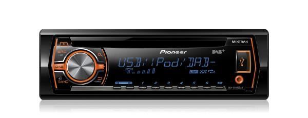 Avtoradio PIONEER DEH-X6500DAB