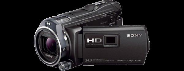 Videokamera Sony HDR-PJ810E s projektorjem