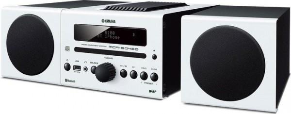 Yamaha MCRB-043 DAB mikro glasbeni stolp - bela