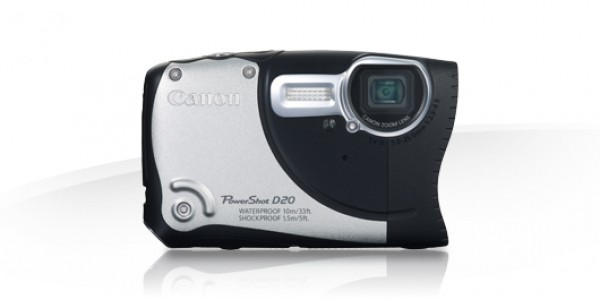 Digitalni fotoaparat CANON PowerShot D20 - srebrna