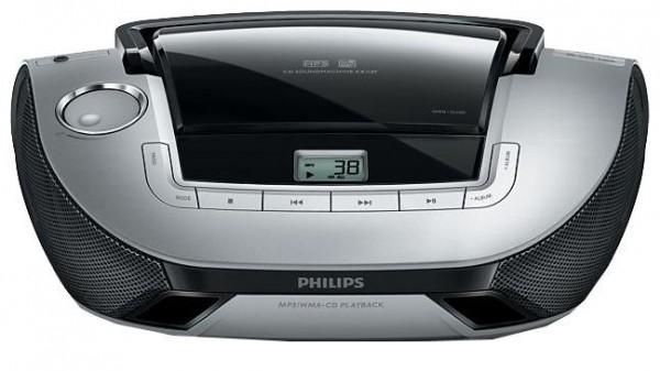 PHILIPS AZ1137 RADIO S CD PREDVAJALNIKOM