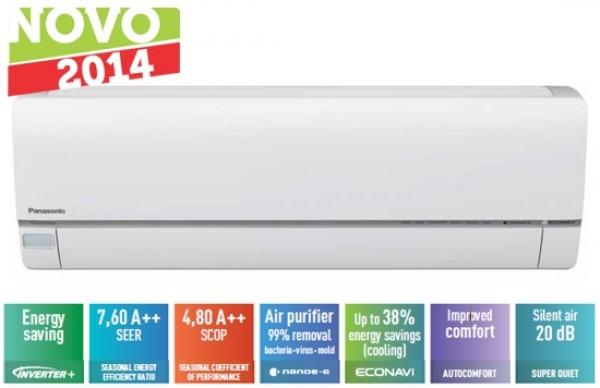 Stenska klimatska naprava Panasonic E12QKE