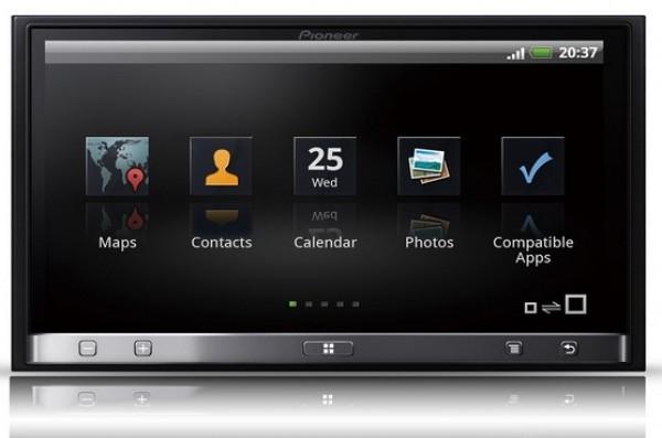 Avtoradio z LCD zaslonom Pioneer AppRadio SPH-DA100