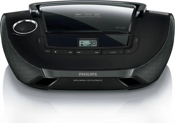 PHILIPS AZ1837 RADIO S CD PREDVAJALNIKOM