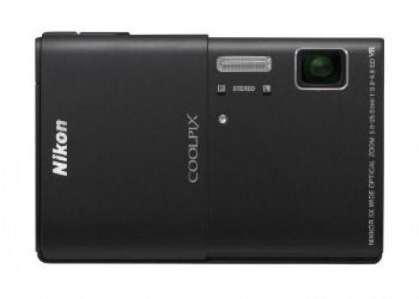 NIKON COOLPIX S100 digitalnio fotoapatat - črn