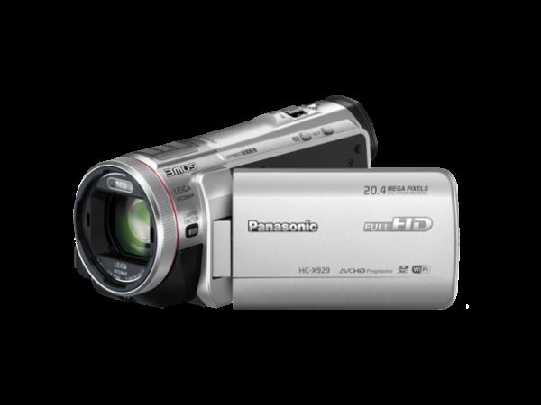 Videokamera Panasonic HC-X929 - srebrna