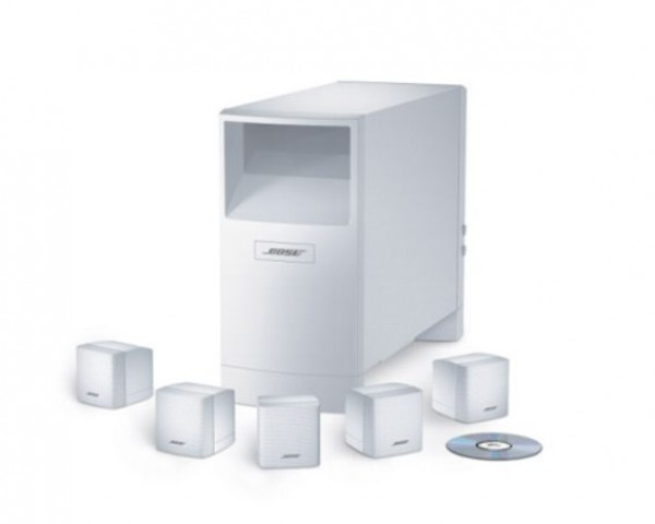 Bose Acoustimass® 6 serija III zvočniki za hišni kino bel