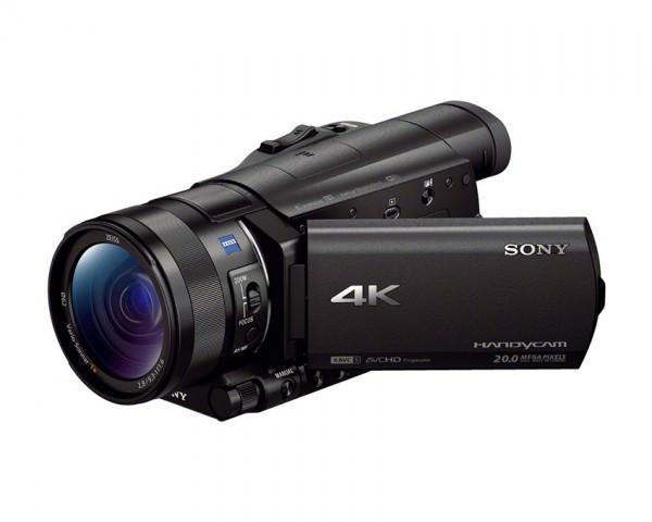 4K prenosna videokamera SONY FDR-AX100B