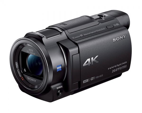 Handycam® 4K SONY FDR-AX33 s CMOS-senzorjem Exmor R™
