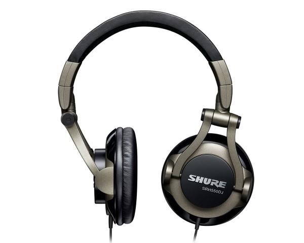 SHURE SRH550DJ profesionalne naušesne DJ slušalke