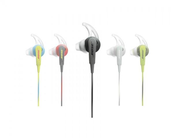 Bose SoundSport™ ušesne slušalke za Apple ogljeno črne