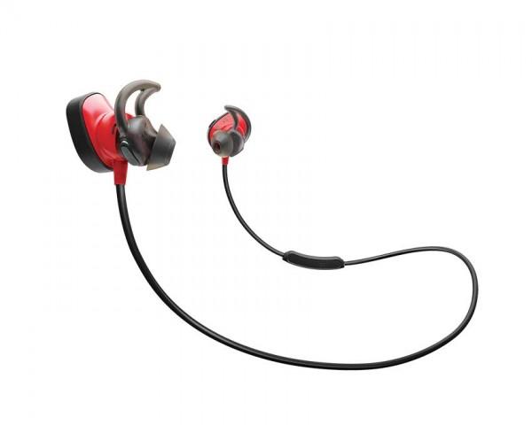 Bose SoundSport™ Pulse brezžične ušesne slušalke rdeče