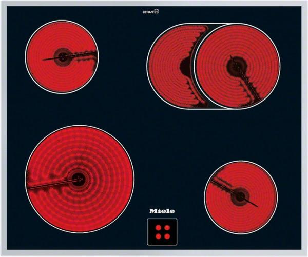 Steklokeramična kuhalna plošča Miele KM 6024 LPT