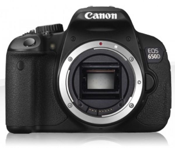 Digitalni fotoaparat CANON EOS 650D ohišje