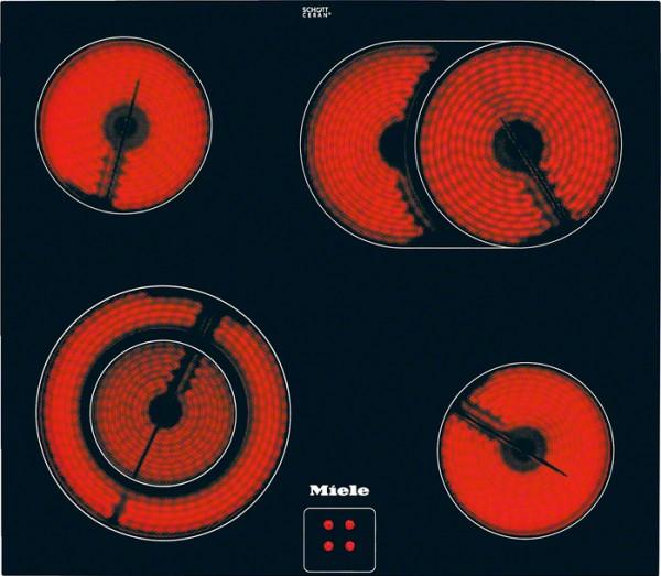 Steklokeramična kuhalna plošča Miele KM 6017