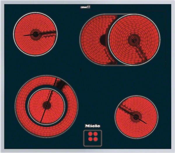Steklokeramična kuhalna plošča Miele KM 6013