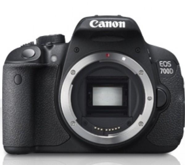 Digitalni fotoaparat Canon EOS 700D ohišje