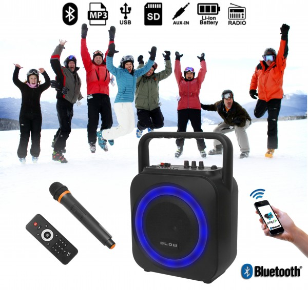 Blow BT800 Bluetooth zvočnik / Radio FM / MP3 / zmogljiva baterija