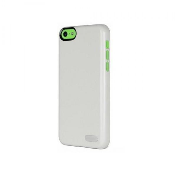 Cygnett Zaščitni svetleč etui FORM + zaščita zaslona za iPhone 5C, bele barve, CY1249CPFOR - Cygnett