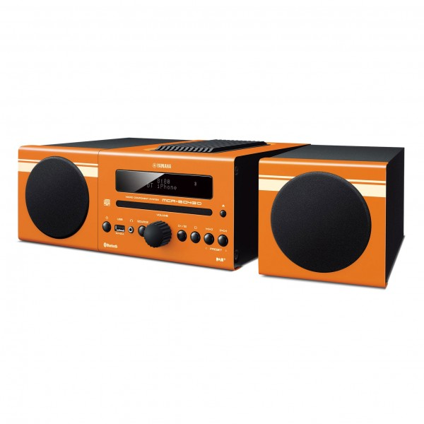 Yamaha MCRB-043 DAB mikro glasbeni stolp - oranžen