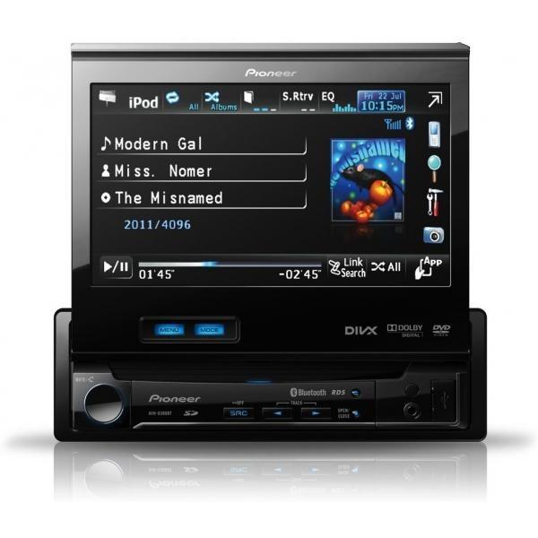 Avtoradio z LCD zaslonom Pioneer AVH-6300BT