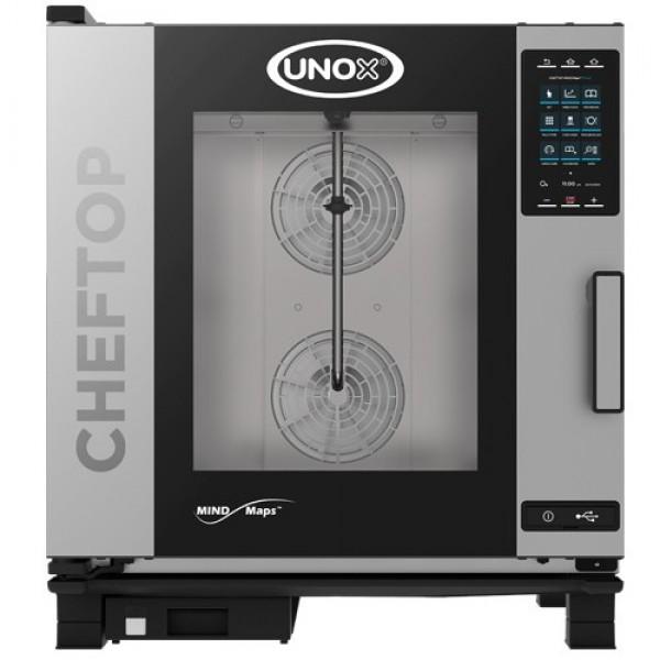 Plinska parno konvekcijska pečica UNOX XEVC-0711-GPR plus 7 GN 1/1