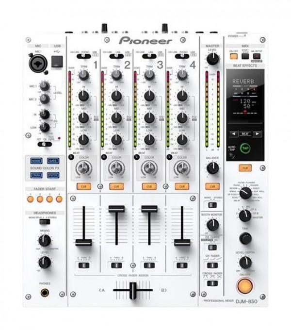Pioneer dj mešalna miza DJM-850-W