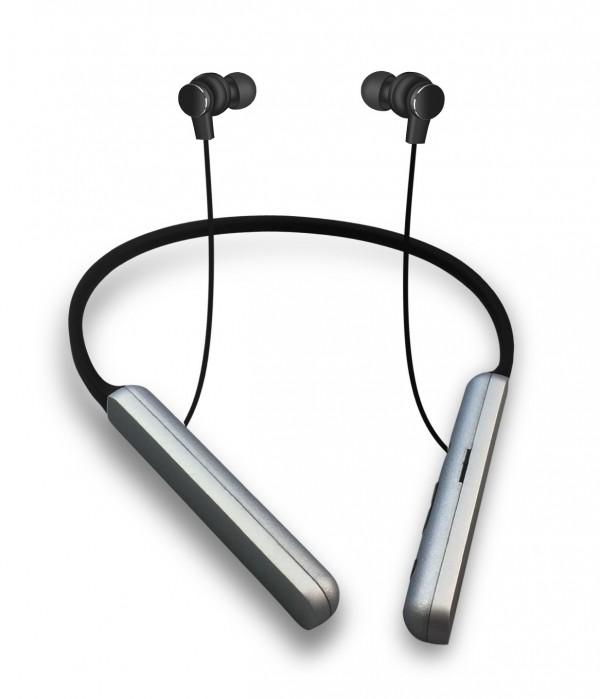 PLATINET PM1074 Bluetooth športne slušalke + mikrofon + MicroSD, črne