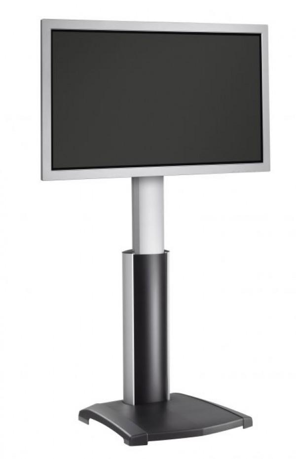 VOGELS PFF 2410 Samostoječi TV nosilec do 65'', nastavljive višine, črno-srebrne barve - VOGELS