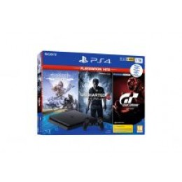 Playstation PS4 1TB set + Hits igre (GT Sport-HZD CE-UC4)