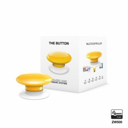 FIBARO The Button, tipka, Rumena FGPB-101-4
