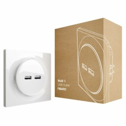 FIBARO Walli N USB Outlet FGWU-021