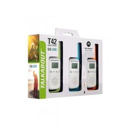 Motorola Walkie Talkie T42 Triple