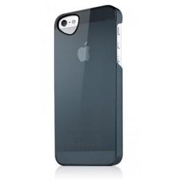 ITSKINS Ultra lahek etui GHOST + zaščita zaslona za iPhone 5S/5, črne barve, APH5-TNGST-BLCK - ITSkins