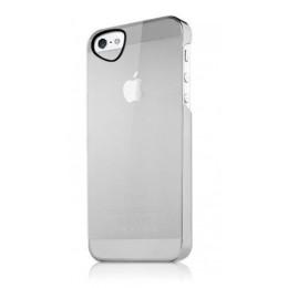 ITSKINS Ultra lahek etui GHOST + zaščita zaslona za iPhone 5S/5, bele barve, APH5-TNGST-WITE - ITSkins