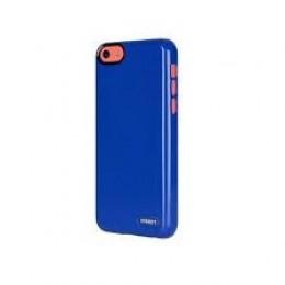 Cygnett Zaščitni svetleč etui FORM + zaščita zaslona za iPhone 5C, modre barve, CY1251CPFOR - Cygnett