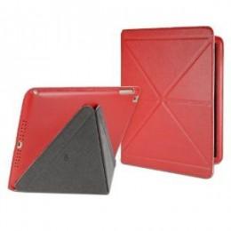 Cygnett Zaščitni etui z zložljivim pokrovom PARADOX LUX za iPad Air, rdeče barve, CY1328CIPLU - Cygnett