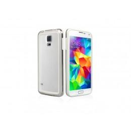 Zaščitni Bumper etui SBS za Samsung Galaxy S5, bele barve, TEBUMPERSAS5W - SBS