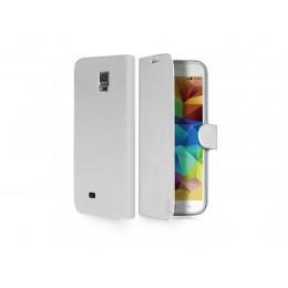 Zaščitni etui s pokrovom SBS za Samsung Galaxy S5, bele barve, TEBOOKSAS5W - SBS