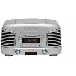 Teac SL-D930 (Srebrn) Radio/CD/Bluetooth 2.1 Retro Sistem - TEAC