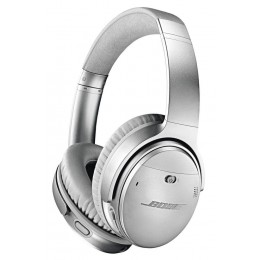 Bose QuietComfort® 35 II Acoustic Noise Cancelling® Bluetooth® slušalke srebrne