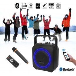Blow BT800 Bluetooth zvočnik / Radio FM / MP3 / zmogljiva baterija