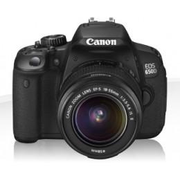 Digitalni fotoaparat CANON EOS 650D kit 18-55mm