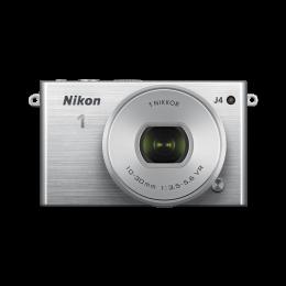 Digitalni fotoaparat Nikon 1 J4 kit 10-30mm PD Zoom - srebrn