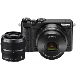 Digitalni fotoaparat Nikon 1 J5 kit 10-30mm PD-Zoom + 30-110mm - črn