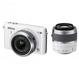 Digitalni fotoaparat Nikon 1 S2 kit 11-27,5mm + 30-110mm - bel