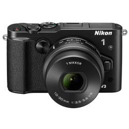 Digitalni fotoaparat Nikon 1 V3 10-30mm PD Zoom - črni